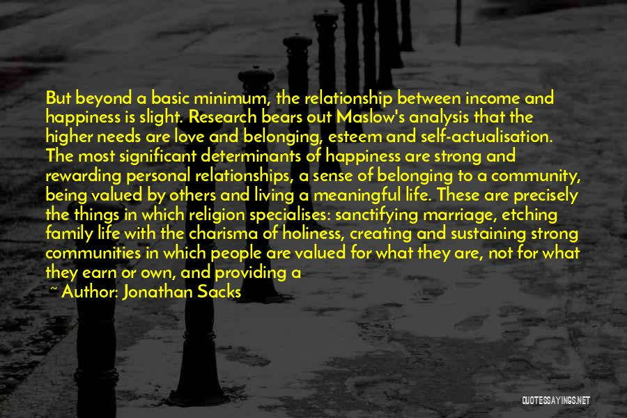 Creating Relationships Quotes By Jonathan Sacks