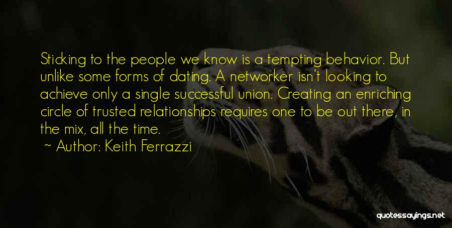 Creating Relationships Quotes By Keith Ferrazzi