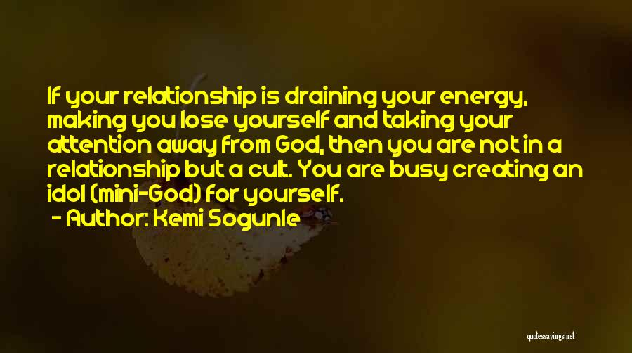 Creating Relationships Quotes By Kemi Sogunle