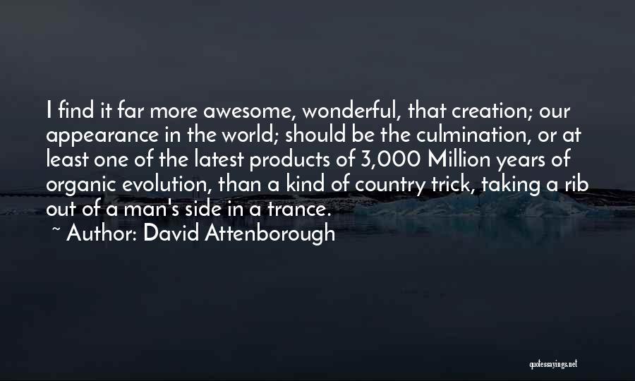Creation Myth Quotes By David Attenborough