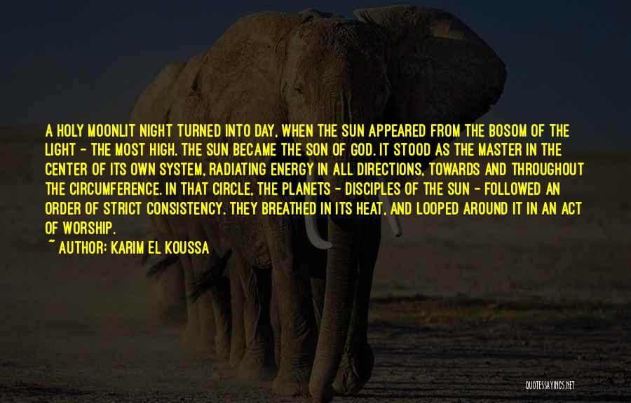 Creation Myth Quotes By Karim El Koussa
