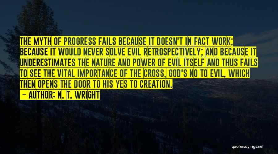 Creation Myth Quotes By N. T. Wright