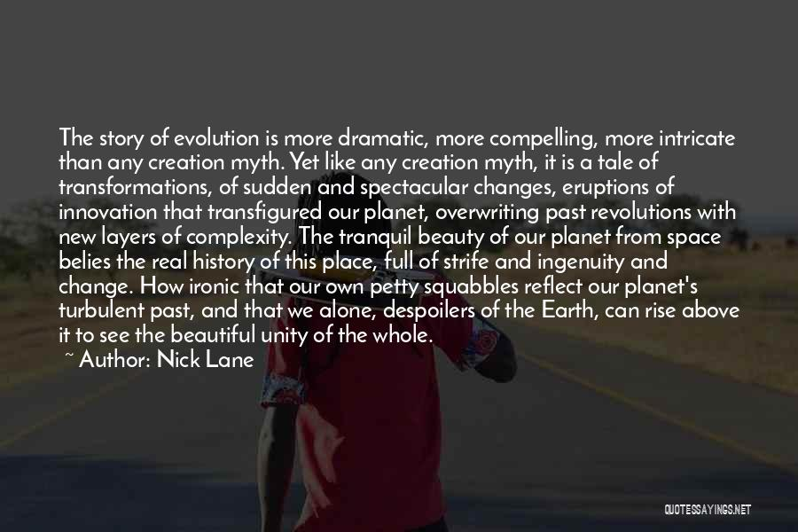 Creation Myth Quotes By Nick Lane
