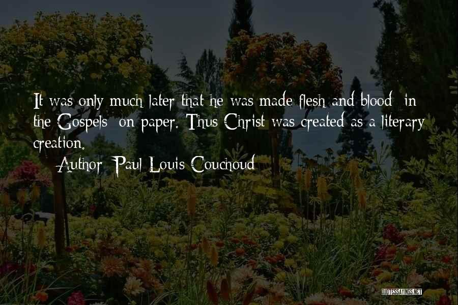 Creation Myth Quotes By Paul Louis Couchoud