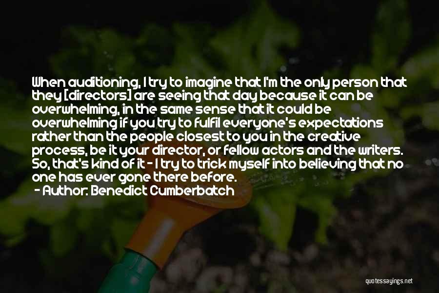 Creative Director Quotes By Benedict Cumberbatch