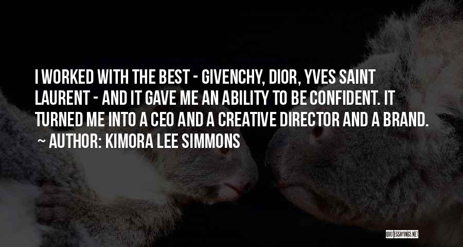 Creative Director Quotes By Kimora Lee Simmons
