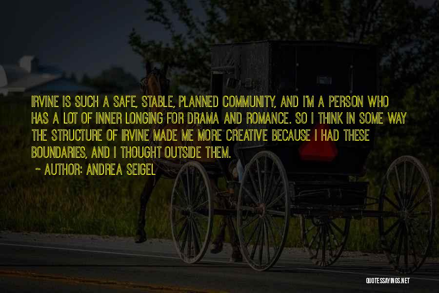 Creative Person Quotes By Andrea Seigel