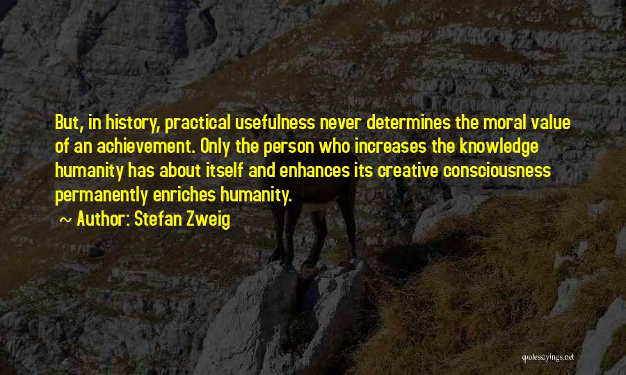 Creative Person Quotes By Stefan Zweig