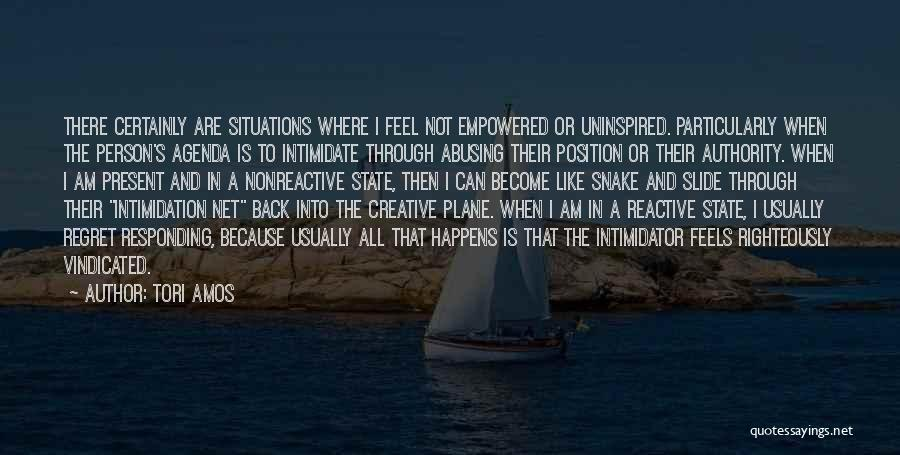 Creative Person Quotes By Tori Amos