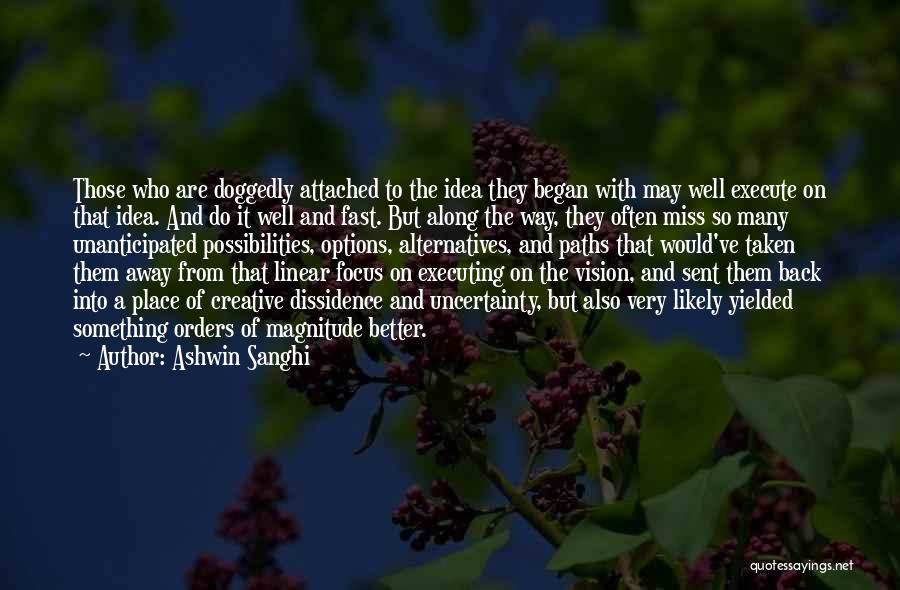 Creative Vision Quotes By Ashwin Sanghi