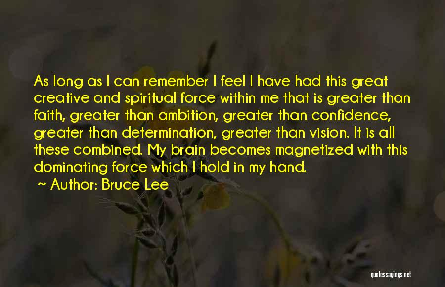 Creative Vision Quotes By Bruce Lee