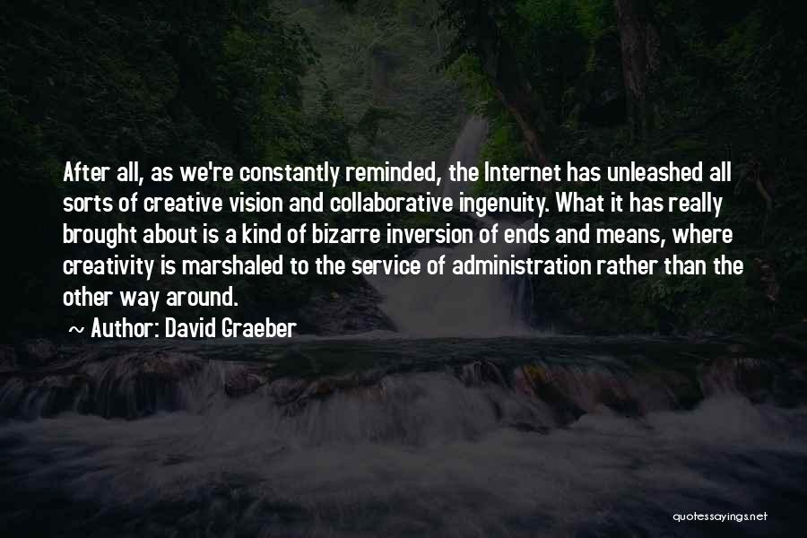 Creative Vision Quotes By David Graeber