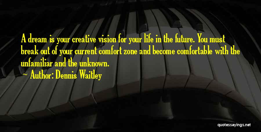 Creative Vision Quotes By Dennis Waitley