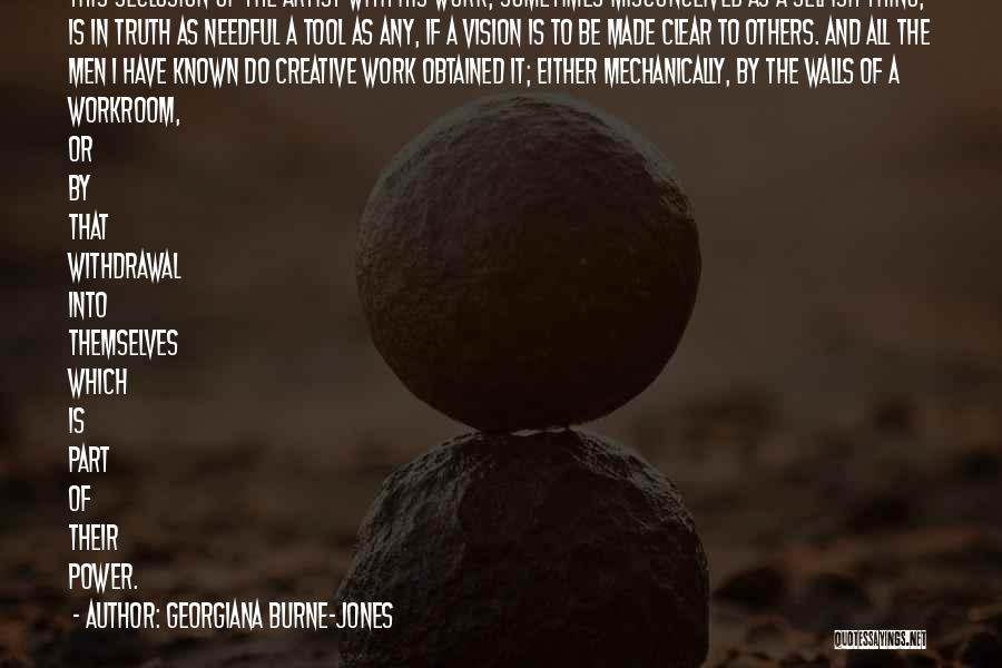 Creative Vision Quotes By Georgiana Burne-Jones