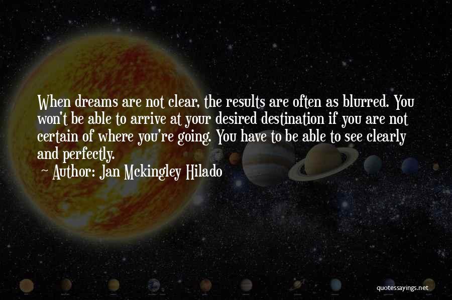 Creative Vision Quotes By Jan Mckingley Hilado
