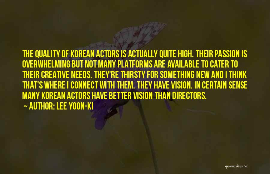Creative Vision Quotes By Lee Yoon-ki