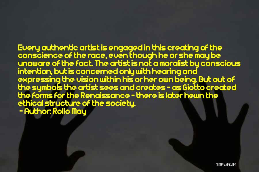 Creative Vision Quotes By Rollo May