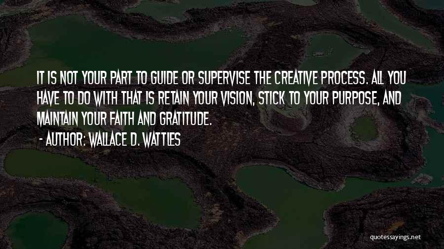 Creative Vision Quotes By Wallace D. Wattles