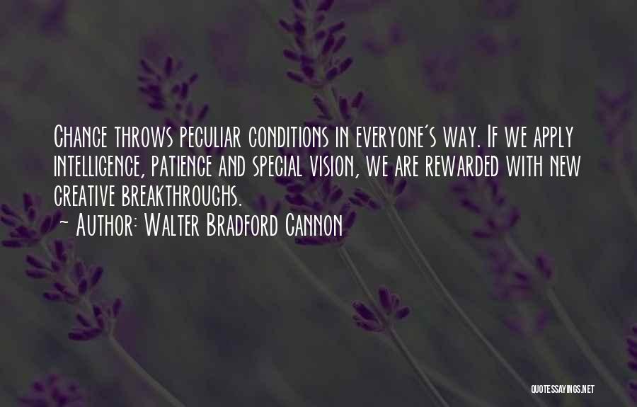 Creative Vision Quotes By Walter Bradford Cannon