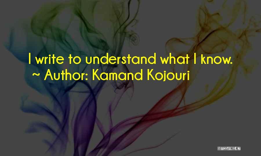 Creative Writing Inspirational Quotes By Kamand Kojouri
