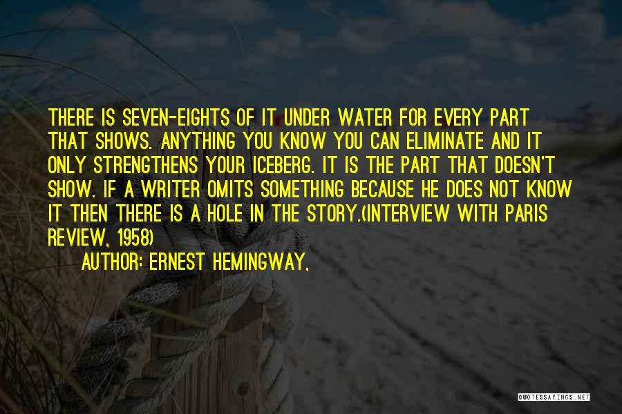 Creative Writing Quotes By Ernest Hemingway,