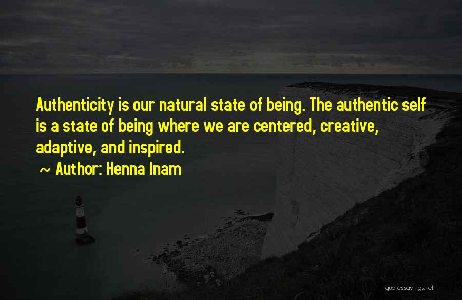 Creativity And Leadership Quotes By Henna Inam