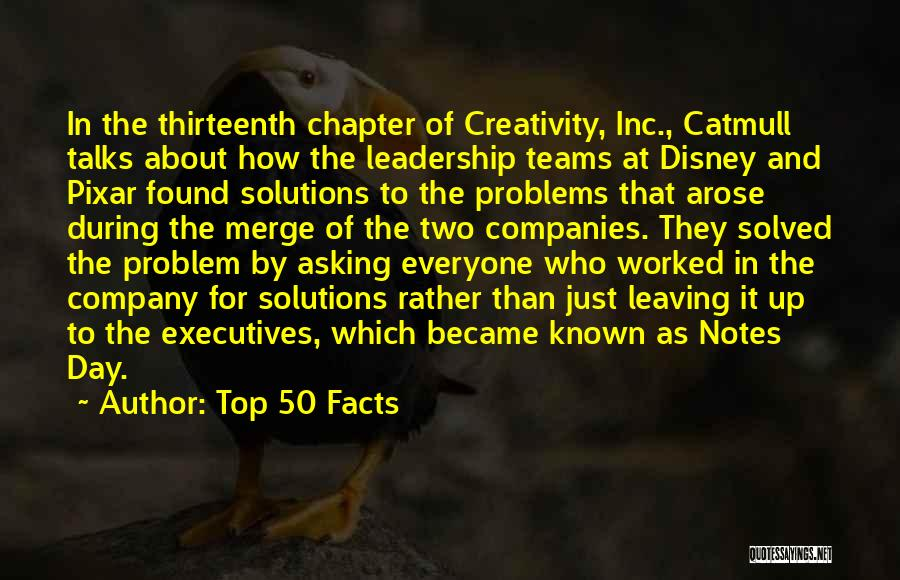 Creativity And Leadership Quotes By Top 50 Facts