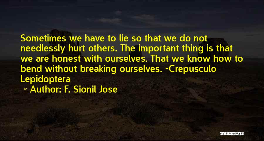 Crepusculo Quotes By F. Sionil Jose