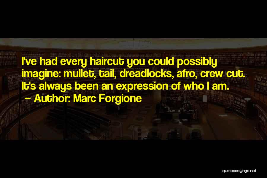Crew Cut Quotes By Marc Forgione
