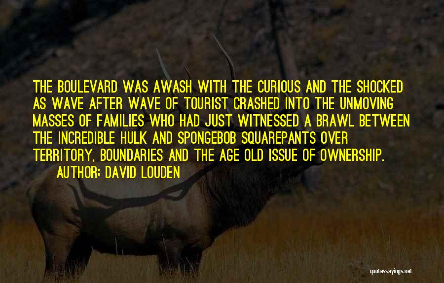 Crime Wave Quotes By David Louden