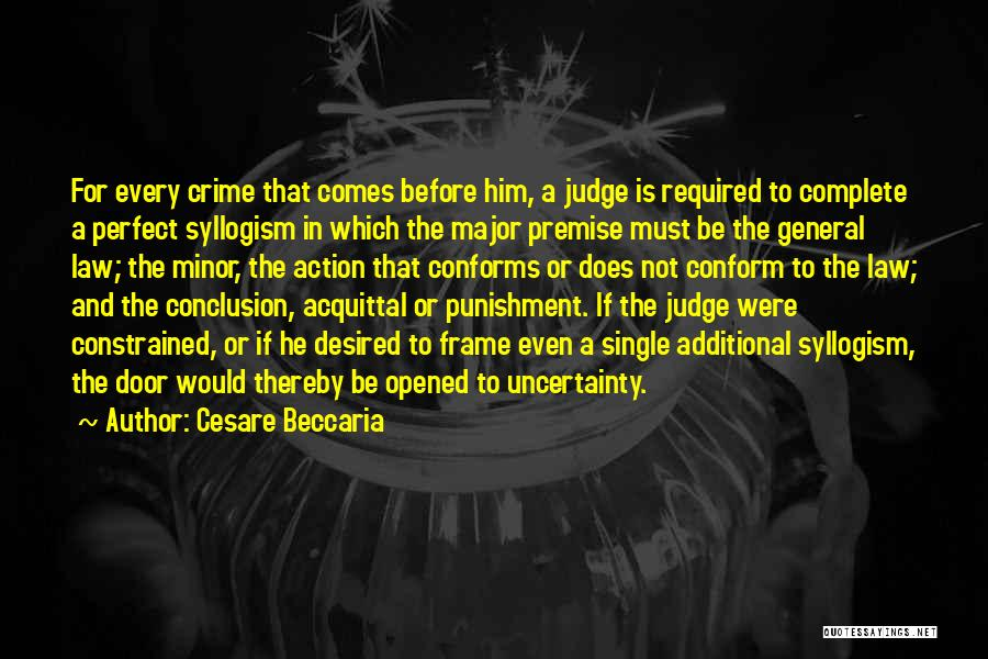 Crimes And Punishments Quotes By Cesare Beccaria