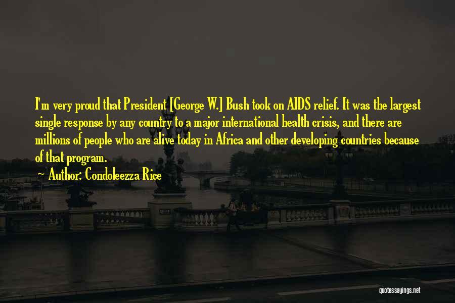 Crisis Response Quotes By Condoleezza Rice