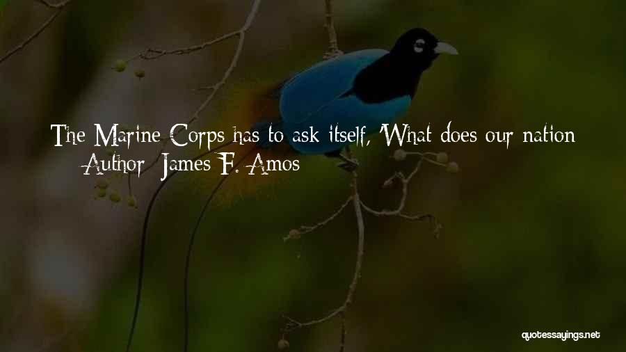 Crisis Response Quotes By James F. Amos