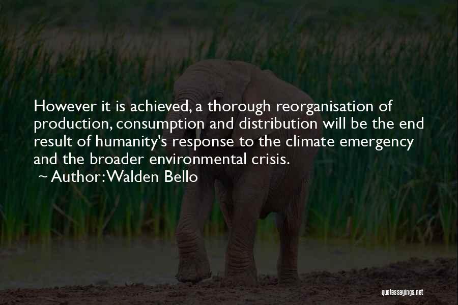 Crisis Response Quotes By Walden Bello
