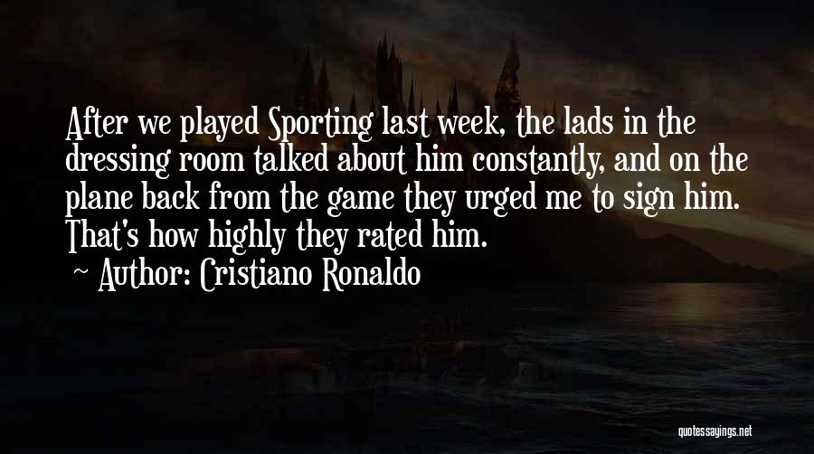 Cristiano Ronaldo Quotes 1659329