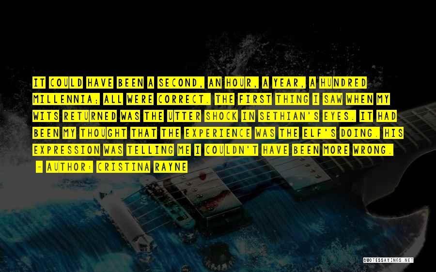 Cristina Rayne Quotes 1472349