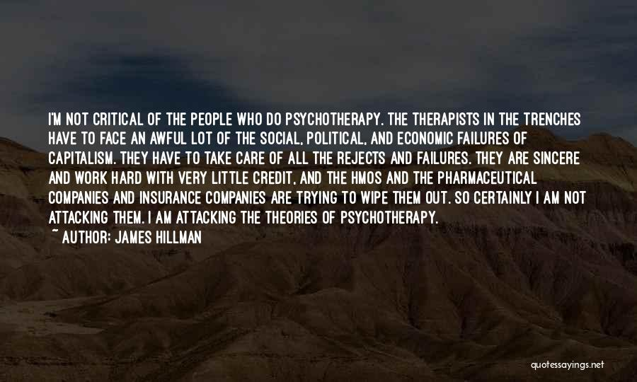 Critical Care Quotes By James Hillman