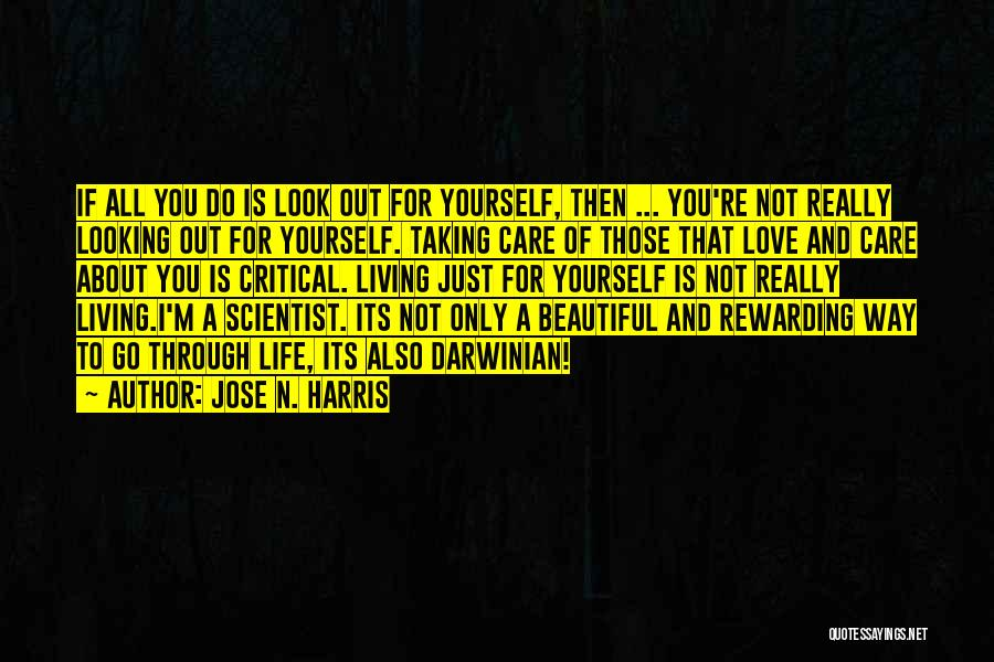 Critical Care Quotes By Jose N. Harris