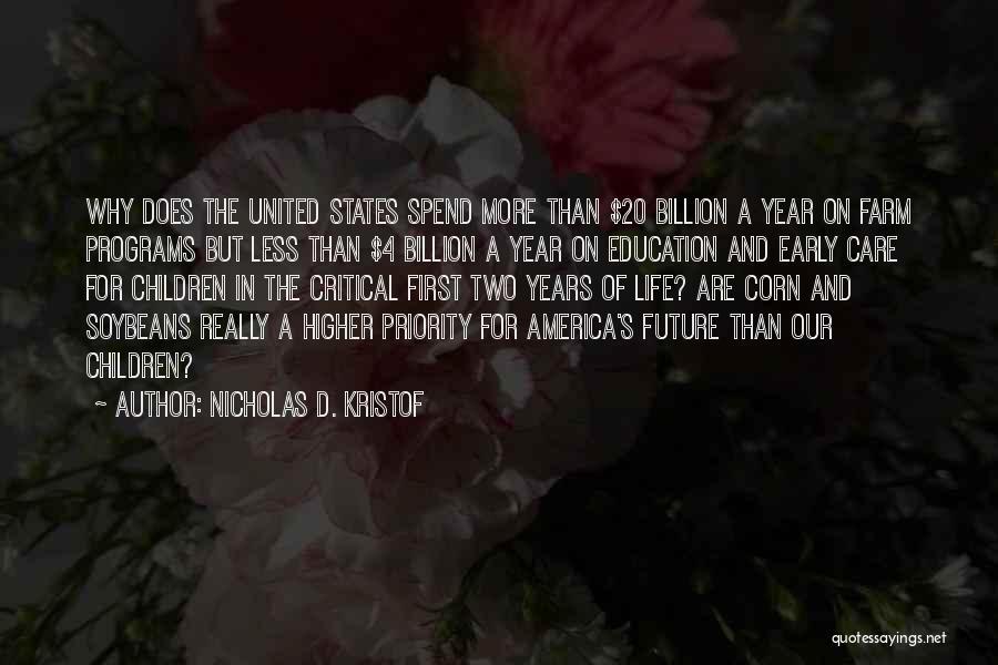Critical Care Quotes By Nicholas D. Kristof