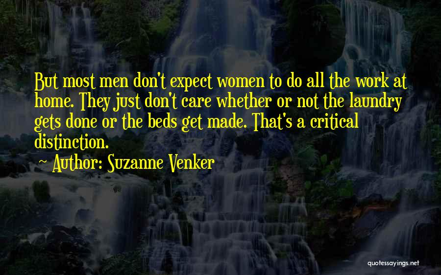 Critical Care Quotes By Suzanne Venker