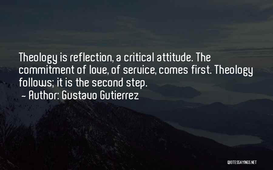 Critical Reflection Quotes By Gustavo Gutierrez