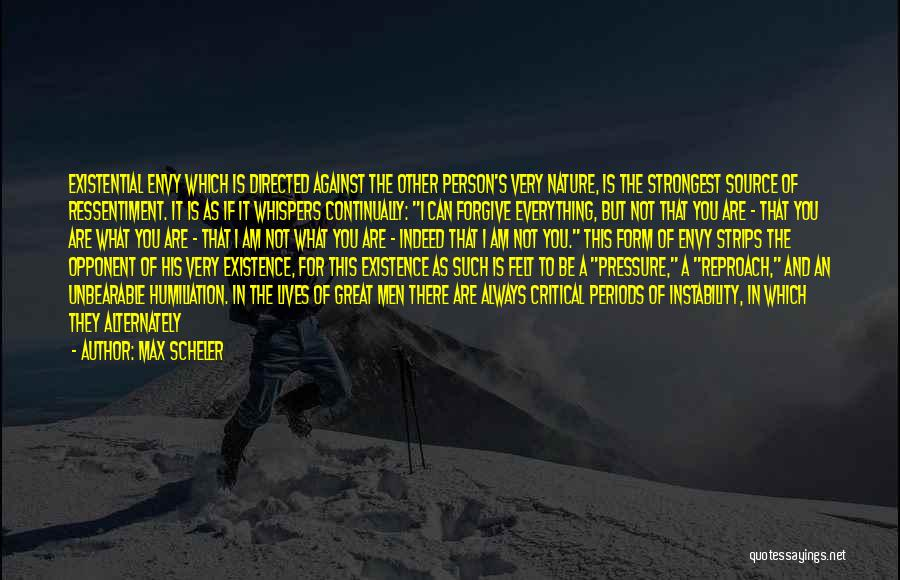 Critical Reflection Quotes By Max Scheler