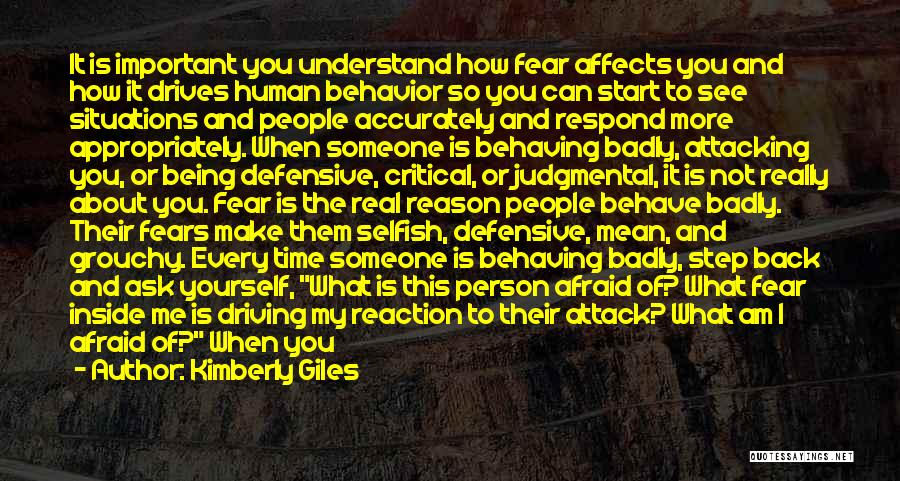 Critical Situation Quotes By Kimberly Giles