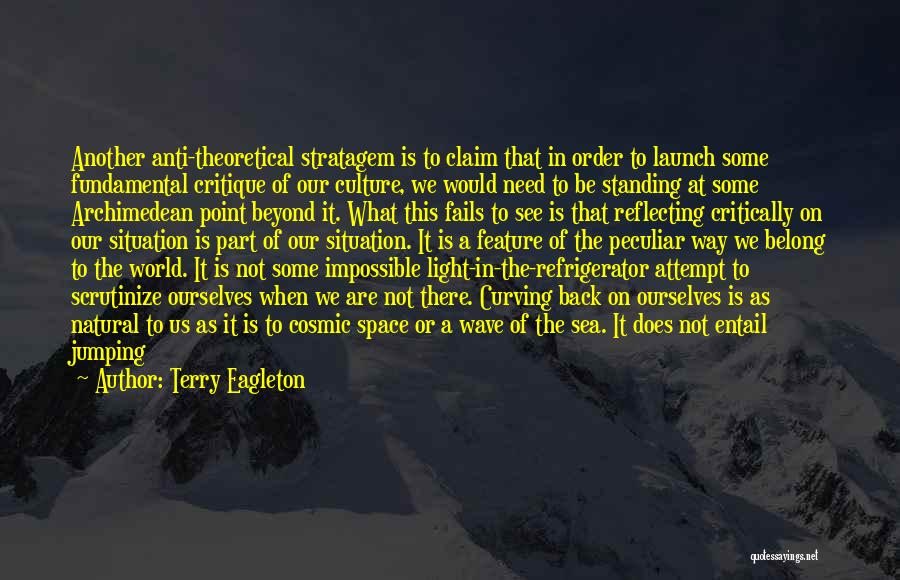 Critical Situation Quotes By Terry Eagleton