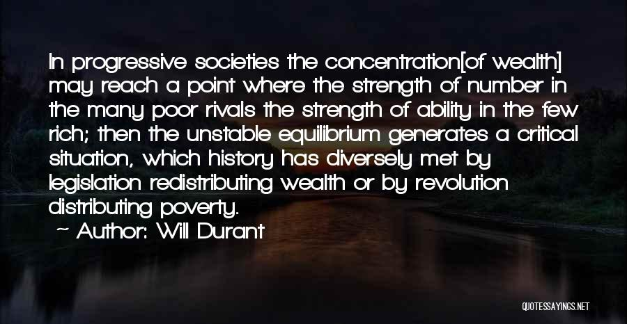 Critical Situation Quotes By Will Durant