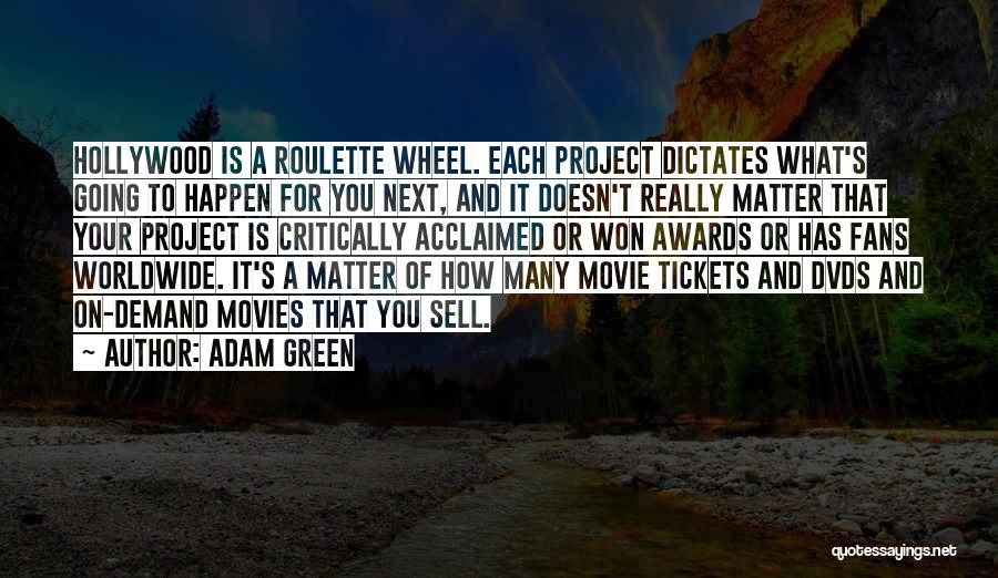 Critically Acclaimed Quotes By Adam Green