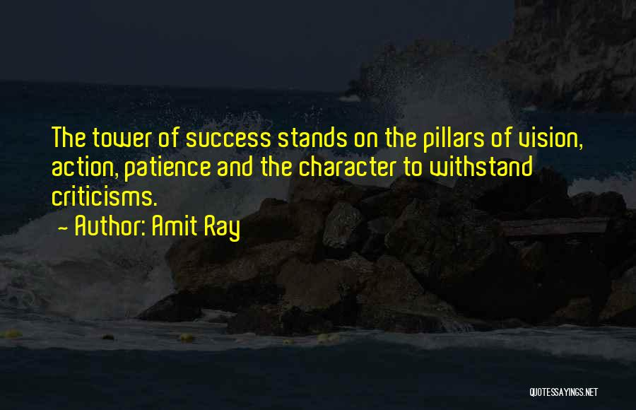 Criticism And Success Quotes By Amit Ray