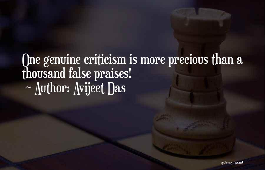Criticism In Relationships Quotes By Avijeet Das