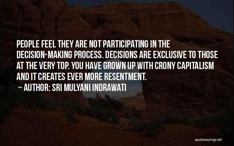 Crony Quotes By Sri Mulyani Indrawati