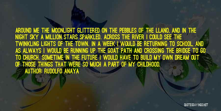 Crossing The River Quotes By Rudolfo Anaya